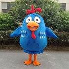 Blue Chicken Mascot ...