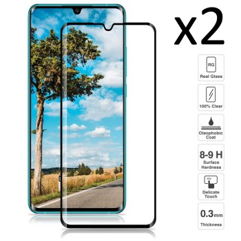 Xiaomi My Note 10 , Set 2 pieces tempered glass screen Protector anti-scratch ultra thin easy to install