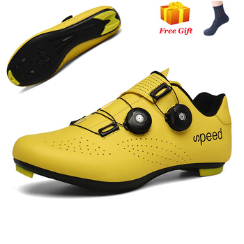 Professional Athletic Bicycle Shoes MTB Cycling Shoes Men Self-Locking Road Bike Shoes sapatilha ciclismo Women Cycling Sneakers 19