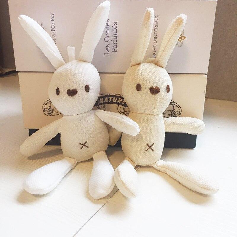 Peluche ours en peluche 18-20CM, mignon lapin robe pendentif poupées cadeaux anniversaire mariage décor de fête 3