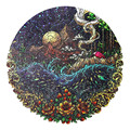 Popular Secret Garden Wooden Jigsaw Puzzle Couples Adults Puzzle Gifts Unique Wood DIY Crafts Famliy Puzzle Games Jigsaw Toys