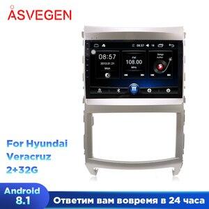 Android 8,1 автомобильный мультимедийный плеер для Hyundai Veracruz GPS аудио Радио Стерео оригинальный стиль навигация автомобильный видео плеер стере...
