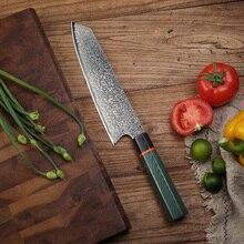 Cuchillo de cocina de 8 pulgadas para chef de Damasco, cuchillo cocina japonés, cuchillo cocina, cuchillo cocina sashimi paulina cocina paulina cocina en 30 minutos