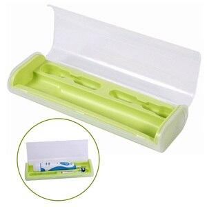 Переносная электрическая зубная щетка Oral B, сменный чехол для путешествий, держатель головок для зубной щетки Braun Oral-B, для кемпинга, для хранения на открытом воздухе