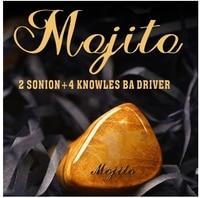 QOA Mojito 2 Sinon+4 knowles Balanced Armature Hybrid Drivers In Ear Earphone HIFI DJ Monitor Earphone With 2PIN Cable
