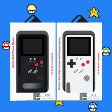 3D Gameboy étui pour Samsung Note 10 20 S10 Plus Ultra noir rétro jeu garçon étui de jeu pour Galaxy S20 Ultra Plus avec 36 jeu