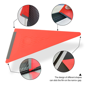Image 3 - FOSHIO 3PCS/Set Vinyl Film Wrapping Squeegee Soft Edge Auto Wrap Window Tint Carbon Fiber Sticker Install Scraper Kit Car Goods