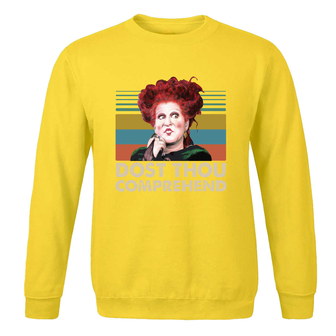 Winifred Sanderson Dost you comprendre Vintage vêtements printemps automne mode sweats beau drôle Hip Hop chaud vêtements