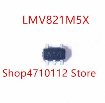 10PCS/LOT NEW LMV821M5X LMV821M5 LMV821 MARKING A14 SOT23-5