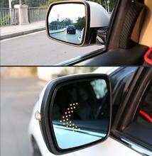 Anti Glare Led Achteruitkijkspiegel Verwarmde Wing Zijspiegel Glas Voor Nissan Rogue X Trail Altima Kicks Qashqai Sentra sylphy Patrol Quest