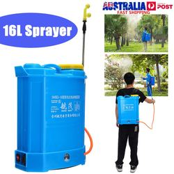 Garten Intelligente Sprayer Knapsack 16 Liter 12v 240v Batterie Cordless Landwirtschaft Pestizid Spray Ausrüstung Rucksack