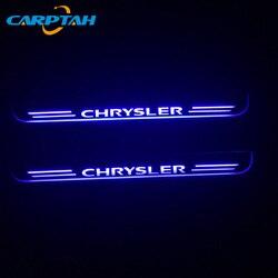 CARPTAH części zewnętrzne samochodu LED nakładka na próg ścieżka dynamicznego streamera światła dla Chrysler 300 300C SRT8 SRT-8 2005-2018