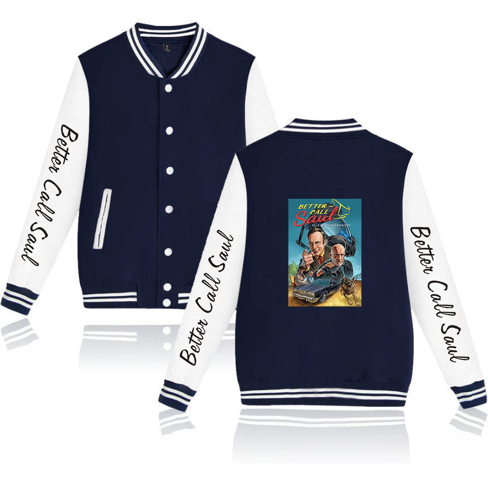 Better Call Saul Fashion Customization Women/Men Jackets Long Sleeve Baseball Jacket 2020 New Harajuku Casual Streetwear Clothes