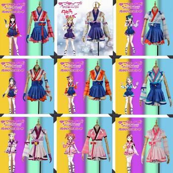 Cosplay Costume Love Live Mijyuku DREAMER Kanan Hanamaru Ruby Yoshiko Riko You Chika Dia Mari Mini Dress Adult Women Stage Skirt love live lovelive sunshine aqours aquarium anime yoshiko chika hanamaru ruby you dia riko kanan mari beanchain acrylic keychain