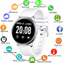 Men Smart Watch Women OLED Screen Heart Rate Monitor Blood Pressure Fitness tracker Sport Watch Smart bracelet For Android IOS(China)