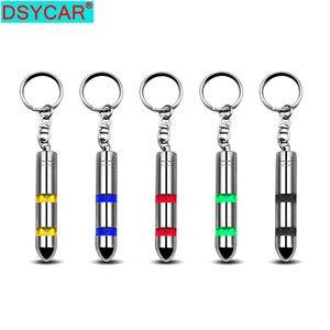 DSYCAR 1Pcs High Voltage Anti-Static Keychain Car Static Body Static Eliminator Discharger