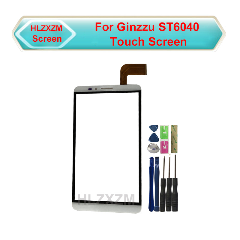 For <font><b>Ginzzu</b></font> <font><b>ST6040</b></font> Touch Screen No LCD Display Digitizer Assembly Replacement With Tools image