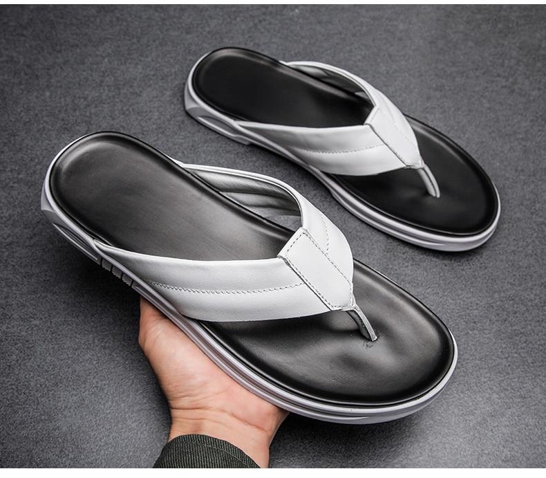 de Verão Homem Flip Flop Sapatos Chinelos Casa Dos Homens dos homens
