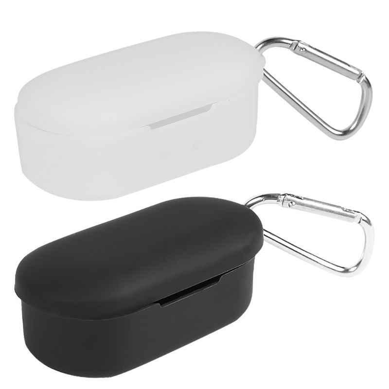 Funda protectora antigolpes de silicona suave para auriculares QCY T2C