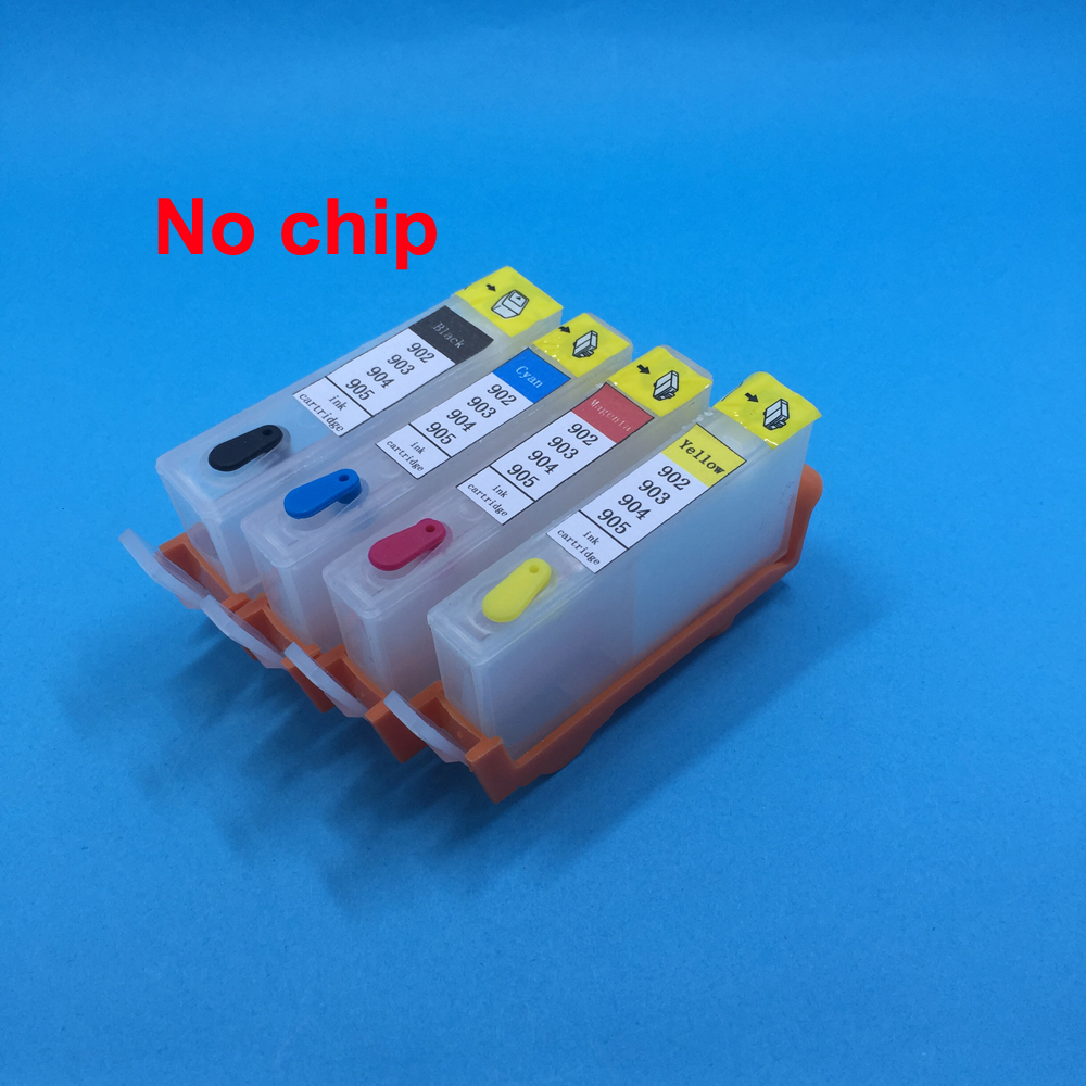 CISS for HP 902 HP902 XL ink cartridge chips compatible refillable 6968 6954