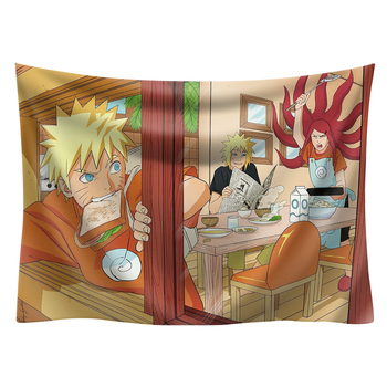 Japan Anime Boho decor Naruto wall hanging hippie boho  tapestry picnic mat beach towel mandala tapestry 200*150cm wall art 14