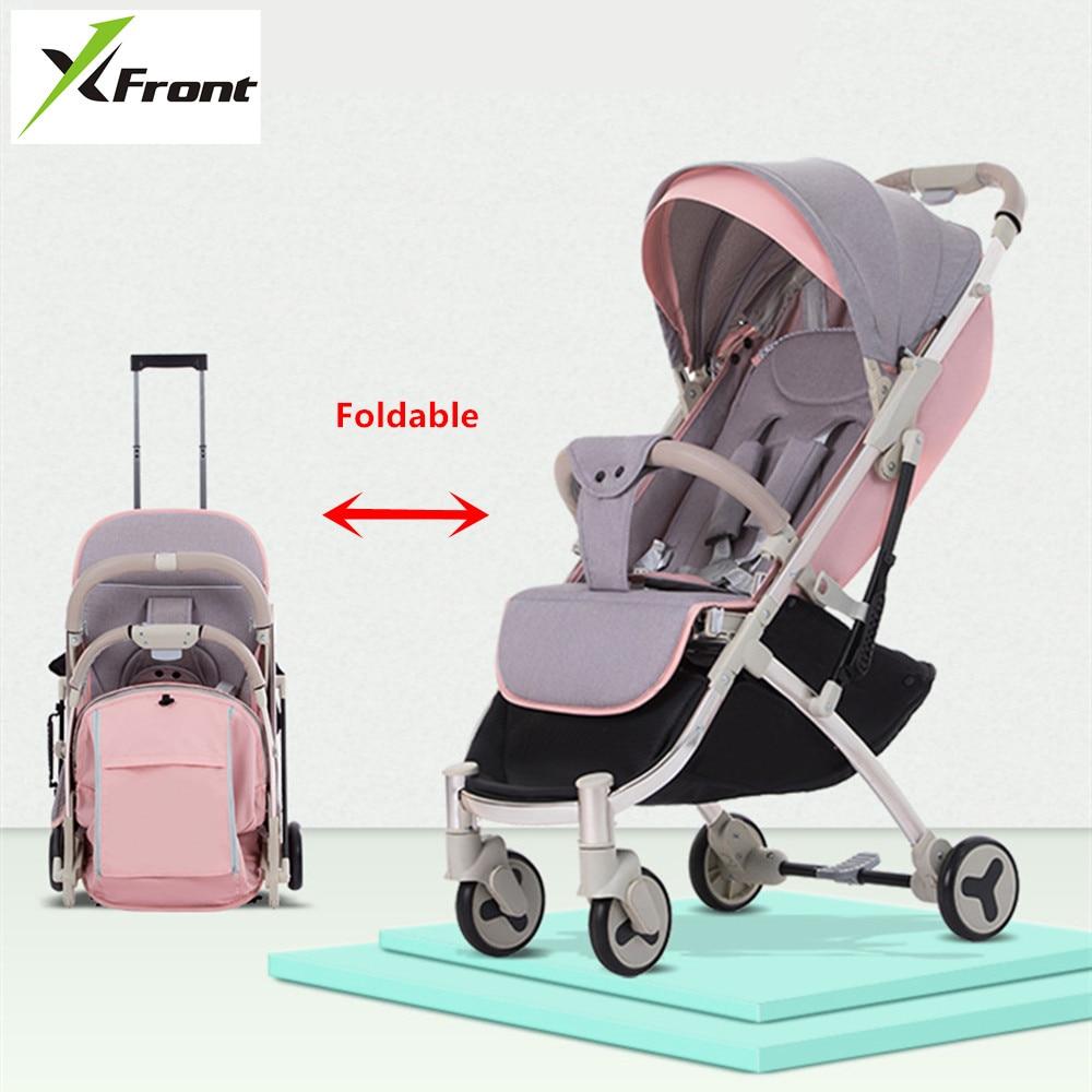 New Brand Baby Stroller Ultra Light Portable Folding Can Sit Lie Baby Child Kids Simple Pocket Mini Bike Hand Push Trolley