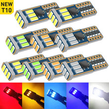 A pack T10 W5W 2825 Led Bulb Car Parking Interior Light For Audi A3 A4 B6 B8 A6 C6 80 B5 B7 A5 Q5 Q7 TT 8P 100 Quattro S line S3