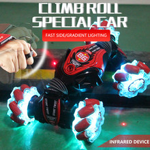 NEW Remote Control RC Car 4WD High Speed Climbing Double-Sided Driving 2.4G Radio-Controlled Stunt Cars Drift Toys for Children
