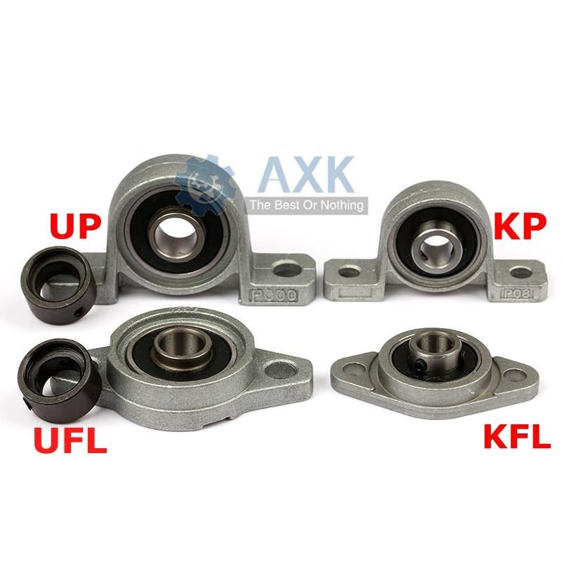 KFL08 KP08 KFL000 KP000 KFL001 KP001 опорный вал Поддержка сферические роликовые подшипники из цинкового сплава для подшипников установленных на корпус оп...