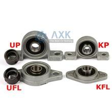 KFL08 KP08 KFL000 KP000 KFL001 KP001 soporte del eje de cojinete rodillo esférico aleación de Zinc montado rodamientos almohada bloque vivienda
