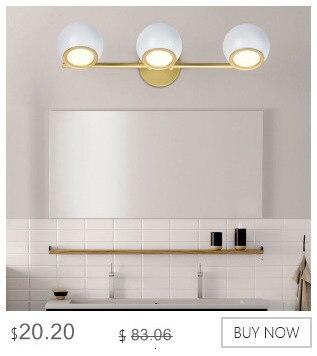 de parede golden wall luminária ângulo ajustável