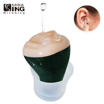 цена на Portable Audiphones Mini Hearing Aids Mini Invisible Hearing Inner Ear Deaf Aid Low Noise Hearing Device Digital Tone Audifono