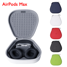 AirPods Max Protective Case Waterproof Storage Bag Anti Fall Box Travel Carrying Case For AirPods Max Earphone Cover Accessories