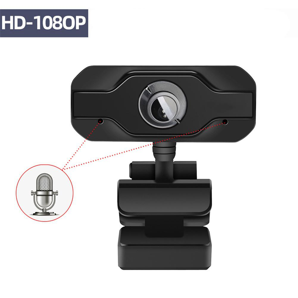 HD Webcam 1920*1080 Built-in Noise Cancelling Microphone Web Cam Mini Computer Camera For Desktop Laptop Skype MSN Clip On