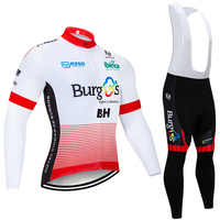 Winter 2020 TEAM BH cycling jersey 20D Pad bike pants suit Ropa Ciclismo Thermal fleece bicycling wear Maillot Pant clothing