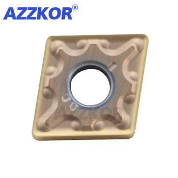 CNMG120404/CNMG120408-MA NT735 Internal Inserts AZZKOR Turning Tool NC Center Lathe For Machining Material Carbide Blades 10pcs