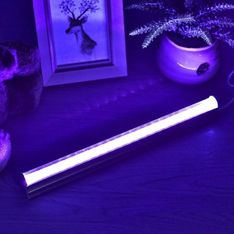 30cm 5W Splicable UV Disinfection Lamp Ermicidal Light Sterilizer Kill Dust Mite Eliminator UV Quartz Lamp For Bedroom