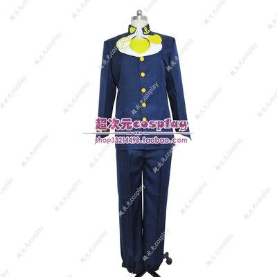 JoJo JoJo של ביזארי הרפתקאות קוספליי Higashikata Josuke קוספליי תלבושות אנימה קוספליי תלבושות חליפות ליל כל הקדושים תלבושות