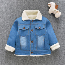Jean Jackets for Girls&Boys Coats baby clothes Autumn winter