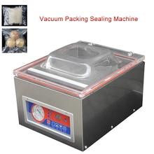 Automatic Vacuum Machine Digital Vacuum Packing Sealing Machine Sealer Vac Packer Food Sealer Food Industrial Packaging DZ-260C