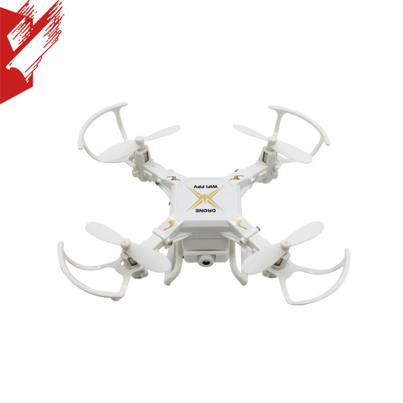 127W Four-axis Mini Unmanned Aerial Vehicle Children Plane Toy WiFi Image Transmission Folding Remote Control Aircraft