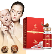 Snail serum 100% pureplant extract hyaluronic acid skin repair essence peptide Face whitening anti age acne remover face serum snail nourishing repair rejuvenation serum 100% natural plant extract hyaluronic acid liquid whitening blemish serum anti ance