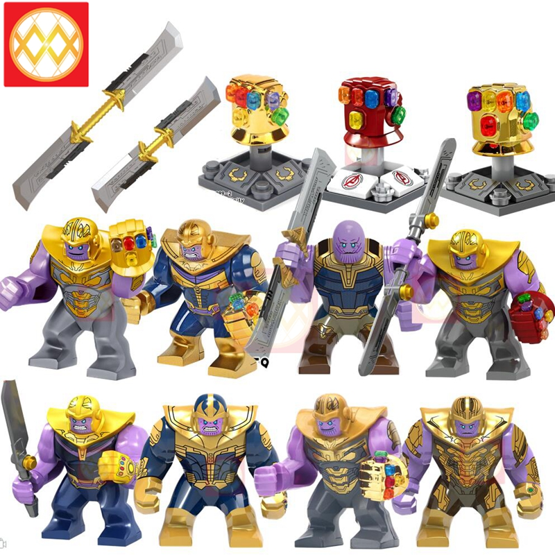 Avengers Infinity War Thanos /& Infinity Gauntlet Lego Building Blocks Marvel Toy