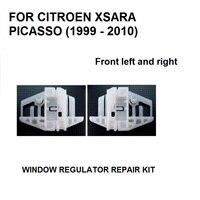 Para citroen xsara picasso janela regulador reparação clipe kit de reparação frente lado esquerdo ou direito novo 1999-2010