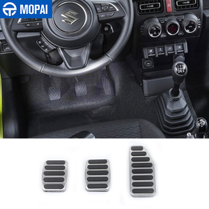 Image 1 - MOPAI Foot Pedal for Suzuki Jimny Manual 2019 Car Gas Brake Pedal Decoration Cover for Suzuki Jimny 2019 2020 Accessories