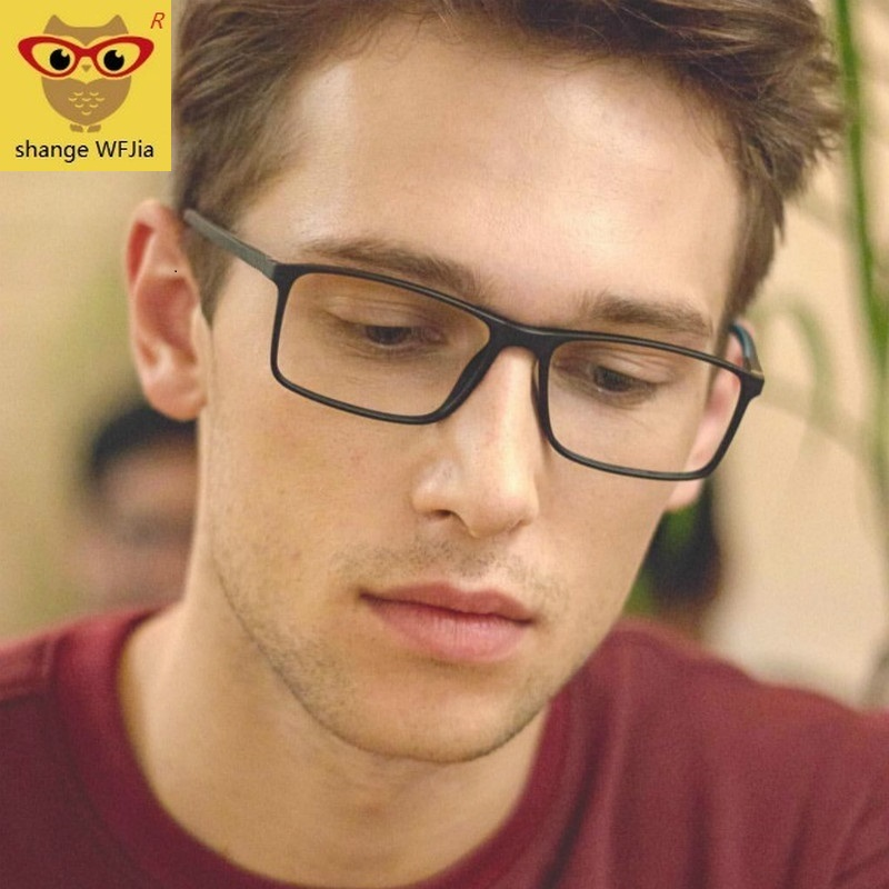 Men Glasses Frame Transparent Eyeglasses Frame Women 2019 Vintage Square Clear Lens Glasses Optical Spectacle Frame