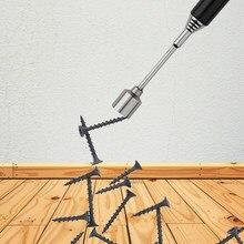 1 sztuk przenośny teleskopowy uchwyt magnetyczny do podnoszenia narzędzie Stick regulowana długość zbieranie śruby potężne magnesy narzędzia Mini długopis