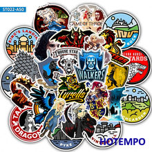 45pcs Game Of Thrones Cartoon Sticker War TV for Mobile Phone Laptop Luggage Suitcase Guitar Skateboard Decal Stickers(China)
