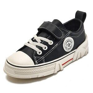 Image 2 - Zapatos para niños, novedad de primavera 2020, zapatillas informales para niños, moda, zapatos con cabeza de concha para niños, zapatillas transpirables para niños, Tenis Infantil
