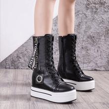 Новые ботинки martin сезона осень зима 2020 женские белые сохраняющие